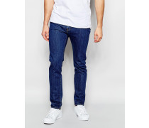Levi's 510 Stretch-Skinny-Jeans in mittlerer Unico 80er-Waschung Blau
