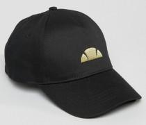 Baseball Cap With Small Foil Logo Schwarz
