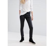 Blend She Bright Bae Beschichtete Jeans, 32 Schwarz