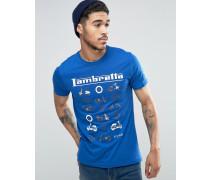 Multi Scooter T-Shirt Blau