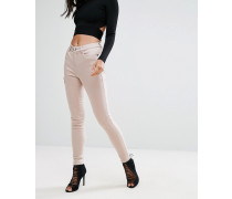 Skinny-Jeans Rosa