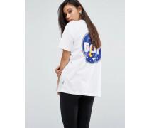 Space Badge T-Shirt Weiß