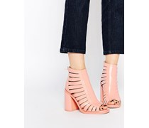 END OF TIME Ankle Boots Rosa