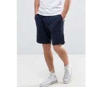 Allensmore Sweatshorts mit aufgesetzten Taschen Marineblau