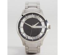 AX2179 Armbanduhr aus Edelstahl Silber