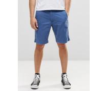 Denim & Supply Ralph Lauren Blaue Chino-Shorts Blau