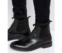 Southwark Chelsea-Stiefel aus Leder Schwarz