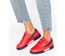 Original Fitness Rote Sneakers Rot