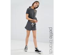 Laufshorts mit Seitenstreifen Grau