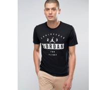 Nike Bedrucktes T-Shirt in Schwarz 801556-010 Schwarz