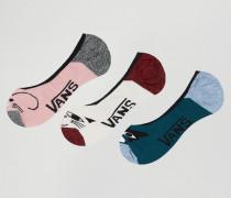 Socken mit Tiergesichts-Motiv im 3er-Pack Mehrfarbig