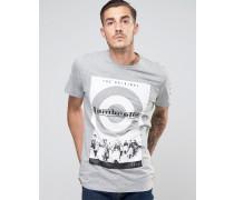 Retro Scooter T-Shirt Grau