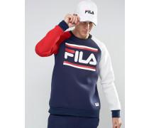 Fila Schwarzes Sweatshirt im Retro-Look Marineblau