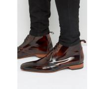 Escobar Chukka-Stiefel mit Ausstanzungen Braun