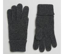 Schlichte Handschuhe Grau