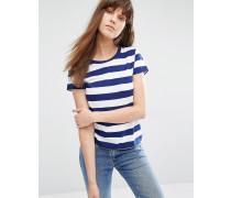 Levi's T-Shirt mit gestreifter Tasche Mehrfarbig