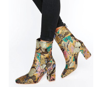 ELMERY Ankle-Boots in Jacquard Mehrfarbig