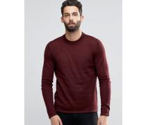 Merino-Pullover Rot