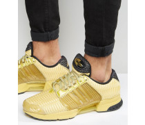 Clima Cool 1 Sneaker in Gold, BA8569 Gold