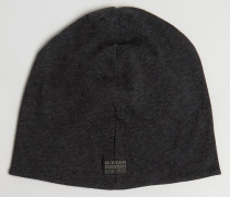 Daber Jersey-Mütze Schwarz