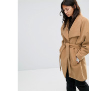 Cirline Jacke mit Gürtel Beige