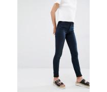 Mocki Schmale Jeans mit mittelhohem Bund Blau