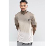 T-Shirt mit verlaufendem Muster Schwarz