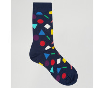 Shape Socken Blau