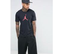 Nike Jumpan Schwarzs T-Shirt, 801051-010 Schwarz