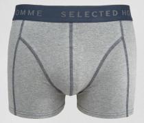 Single Unterhose Grau