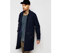 Mantel mit Reißverschluss in Marineblau Marineblau