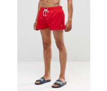 Shortie Shorts, Kombiteil Rot