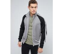 Sports Authentic Graue Jacke mit farblich abgesetzten Ärmeln Grau