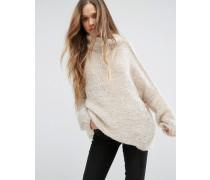 Pullover Cremeweiß