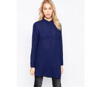 MiH Oversize-Hemd in Indigo Blau