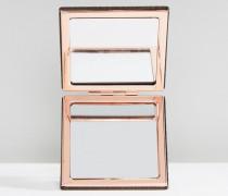 kompakter Mini-Spiegel Schwarz