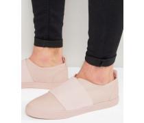 Rosa Sneaker zum Hineinschlüpfen mit Elastikeinsatz Rosa