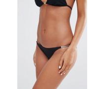 Heidi Klum Swim String-Bikinihose Schwarz