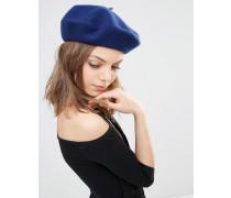 Baskenmütze Blau