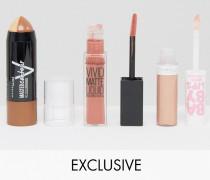 Exklusiv bei ASOS: Konturen & Lippen-Set, 29% SPAREN Mehrfarbig
