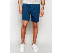 Prep Dunkelblaue Shorts Blau