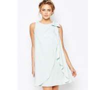 Lydia Kleid mit Zierschleife Grün