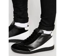 Lea Mittelhohe Sneakers Schwarz