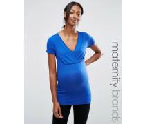 Mamalicious Maternity Oberteil zum Stillen Blau