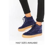 DUKESchnürturnschuhe mit hohem Knöchel Blau