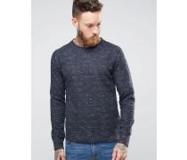 Nudie Samuel Double Face Sweatshirt Marineblau