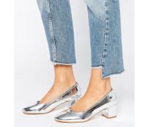 Truffle Glove Schuhe mit mittelhohem Absatz Silber