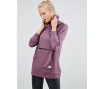 Modischer Pullover mit Kapuze in Violett Violett