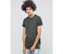 Cato T-Shirt in Khaki Grün