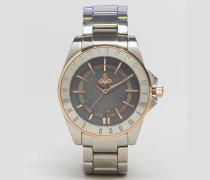 Sloane Rose Silberne Armbanduhr, VV048GYSL Silber